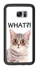 What Bug Eyed Cat For Samsung Galaxy S7 G930 Case Cover by Atomic Market