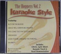 The Hoppers Volume 2 Christian Karaoke Style NEW CD+G Daywind 6 Songs