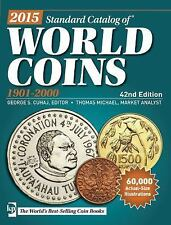 2015 Standard Catalog of World Coins 1901-2000 New & Free Shipping