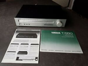 YAMAHA T-550 AM / FM STEREO TUNER VINTAGE 1980