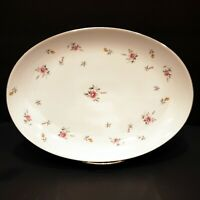 Vintage Lovely Fine China Of Japan Lorraine Oval Serving Platter 3926