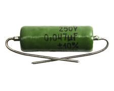 0.047uF NOS K42Y-2 Paper in Oil Capacitor Soviet Military Spec.