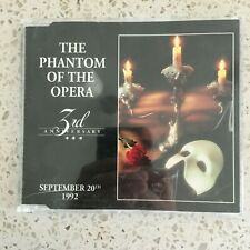 Phantom of the Opera 1992 Canadian 3rd Anniversary Promo Very Rare VG+ Cond.