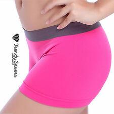 Para Mujer Hot Shorts Deportiva Casual Fashion Pantalón Yoga pantalones cortos Plus TAMAÑO 8-14