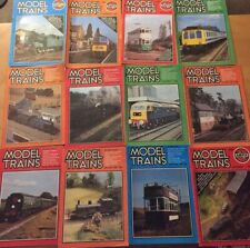 More details for job lot x 33 model trains magazines from the early 1980s railway modelling mags