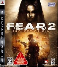 Used PS3 F.E.A.R. 2: Project Origin PLAYSTATION 3 SONY JAPAN JAPANESE IMPORT