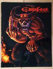OZZFEST 2001 TOUR PROGRAM Ozzy Osbourne BLACK SABBATH