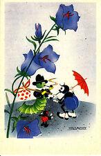 alte Kunstdruckkarte, Postkarte von Willy Schermele