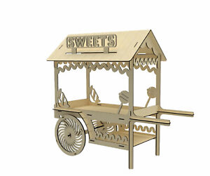 A114 CANDY CART SWEET HOLDER LARGE SIZEdonut doughnut wall wedding party table .
