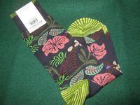 Robert Graham Men's JORGE Floral Socks REG. Sz. NAVY (NWT)