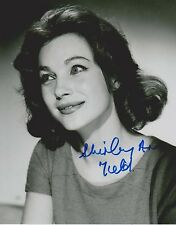 Shirley Anne Field Signed 8x10 Photo -Star of THE ENTERTAINER - SEXY!!! G708