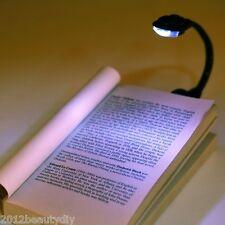 Mini Flexible Clip-On Bright Book Light Laptop LED Book Reading Light Lamp