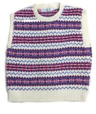 Oshkosh b gosh Girls knitted Fair Isle/Nordic vest, Size L CUTE