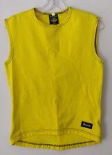 Aeroskin California Yellow Womens Sleeveless Scuba Swimming Wetsuit Top Sz L