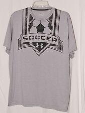 Under Armour Men's Soccer Heat Gear Sports Shirt Size Large