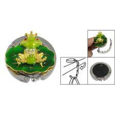 New Cute Folding Bag Holder Purse Hook Handbag Hanger Green Frog