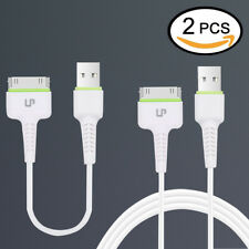 Charging lead charger USB Data cable for iP 4 4S 3G 3GS(2 pieces)