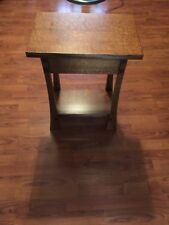 Qtr Sawn Oak Table 12x18 End Table Plant Stand