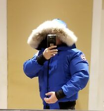 BRAND NEW LIMITED EDITION CANADA GOOSE BLUE LABEL PBI CHILLIWACK MEDIUM PARKA