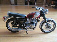 CL/FRANKLIN MINT 1969 TRIUMPH BONNEVILLE 1:10 SCALE DIECAST MOTORCYCLE/BIKE!