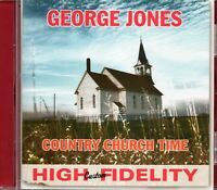 George Jones - Country Church Time (1959 Album) + 12 More 1950s Tracks (2011 CD)