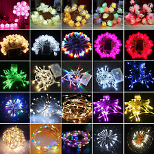 LED Battery Powerd String Fairy Lights Hotel Wedding Romantic Xmas Party Decor