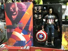 """HC Toy  The Avengers Captain America 12"""" Action Figures Box Set Gift"""
