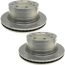 Pair Set of 2 Rear Brake Disc Rotors 353mm ACDelco For Dodge Ram 1500 2500 3500