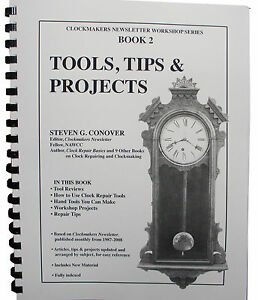 New Tools, Tips and Projects by Steven Conover - Book #2 in Series (BK-130)