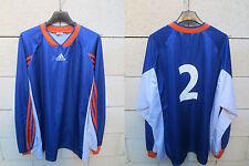 VINTAGE Maillot porté n°2 MONTPELLIER MHSC ADIDAS shirt football maglia trikot