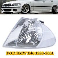 Left Clear Corner Parking Signal Lights for 1999-2001 BMW E46 3-Series Sedan