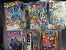 X-FORCE Lot of 92 Marvel Comics 1991-02 Cable Deadpool Liefeld Ellis F-VF/+