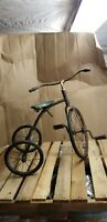 Rare 1920s Antique Pedal Childs Tricycle. Toledo Metal Works. Nice Display piece