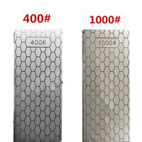 400#/1000# Diamond Knife Sharpening Stone Polished Square Plate Whetstone Tools