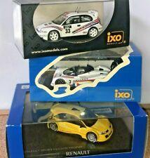 Lot IXO et NOREV Peugeot 905,TOYOTA WRC, MEGANE TROPHY 1/43