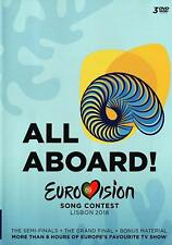 Eurovision Song Contest 2018 DVD Brand New 2018 Region Free