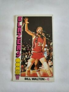 Authentic 1969 Topps #57 Autographed Bill Walton