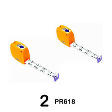 Keson Pr618 Steel Pocket Rod in Feet & Inches - Set of 2