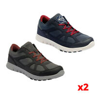 2 X Pack Regatta Mens Varane Sport Lace Up Trainers Shoes Size 7 RRP £55 each
