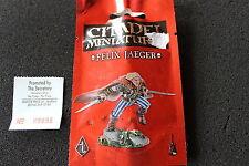 Warhammer PR33 Felix Jaeger Metal Figure Limited Edition Black Library Gotrek GW