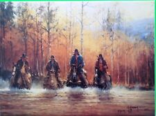 G HARVEY 'OF ONE SPIRIT' CANVAS BOXED SINCE RECEIVED 395/3500!!!!