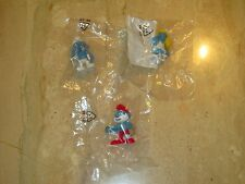 Schleich Smurf Movie Lot of 3 Brainy Smurfette Papa Smurf Movie