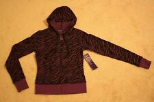 MILEY CYRUS ANIMAL PRINT FRENCH TERRY HOODIE - Size X-Small (New With Tags)