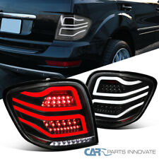 For 06-11 Mercedes Benz W164 ML-Class Black Full LED Tail Lights Brake Lamps