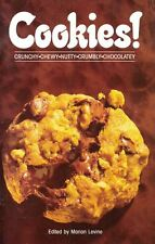 COOKIES Crunchy Chewy Nutty Crumbly Chocolatey Cookbook ACG 1989