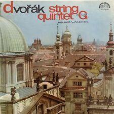 DVORAK:STRING QUINTET No2 G Major 1963 Supraphon LP  Dvorak Quartet with F.Posta