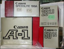 Canon A-1 Ausrüstung OVP