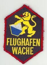 Vintage Swiss Airport Police Flughafen Wache Uniform/Shoulder Patch Switzerland