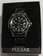 NOW REDUCED! PULSAR  SEIKO MEN'S DATE DIVER VX42 XO62 100M WR BOXED NEW BATTERY