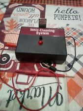 Ionic Jewelry Coin Cleaner, Cleaning System Used working